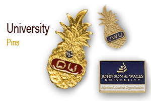Creative Ideas for University Pins Johnson Wales University, Business card cases, Letter Openers, Gifts, Crystal Set, Graduation Gifts