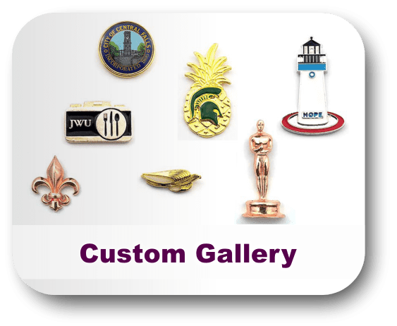 Custom Made Lapel Pins - Your Logo or Your Design - Pins By Frank