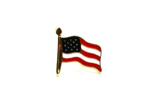 Small American Flag Pin