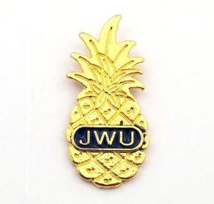 Pineapple Pin for Johnson & Wales University