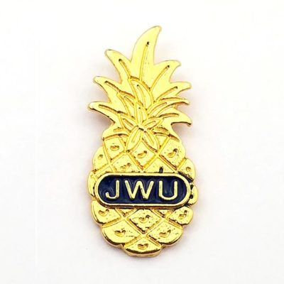 Pineapple Pin for Johnson & Wales University