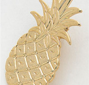 Large Pineapple Pin