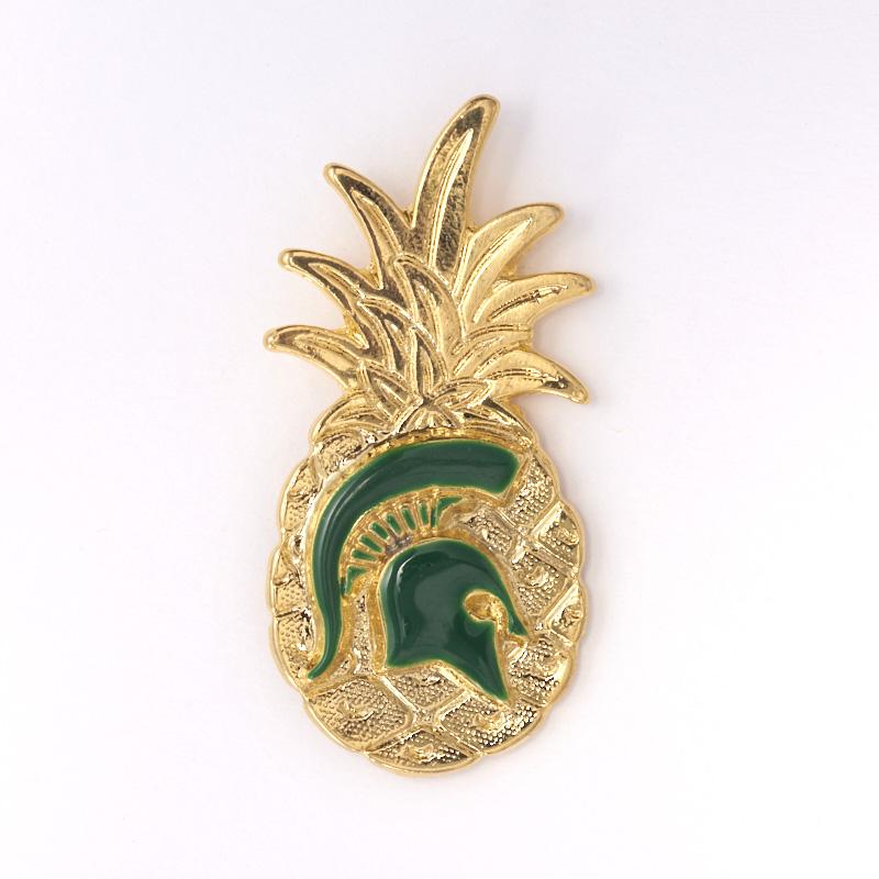 Michigan State Spartan Lapel Pin