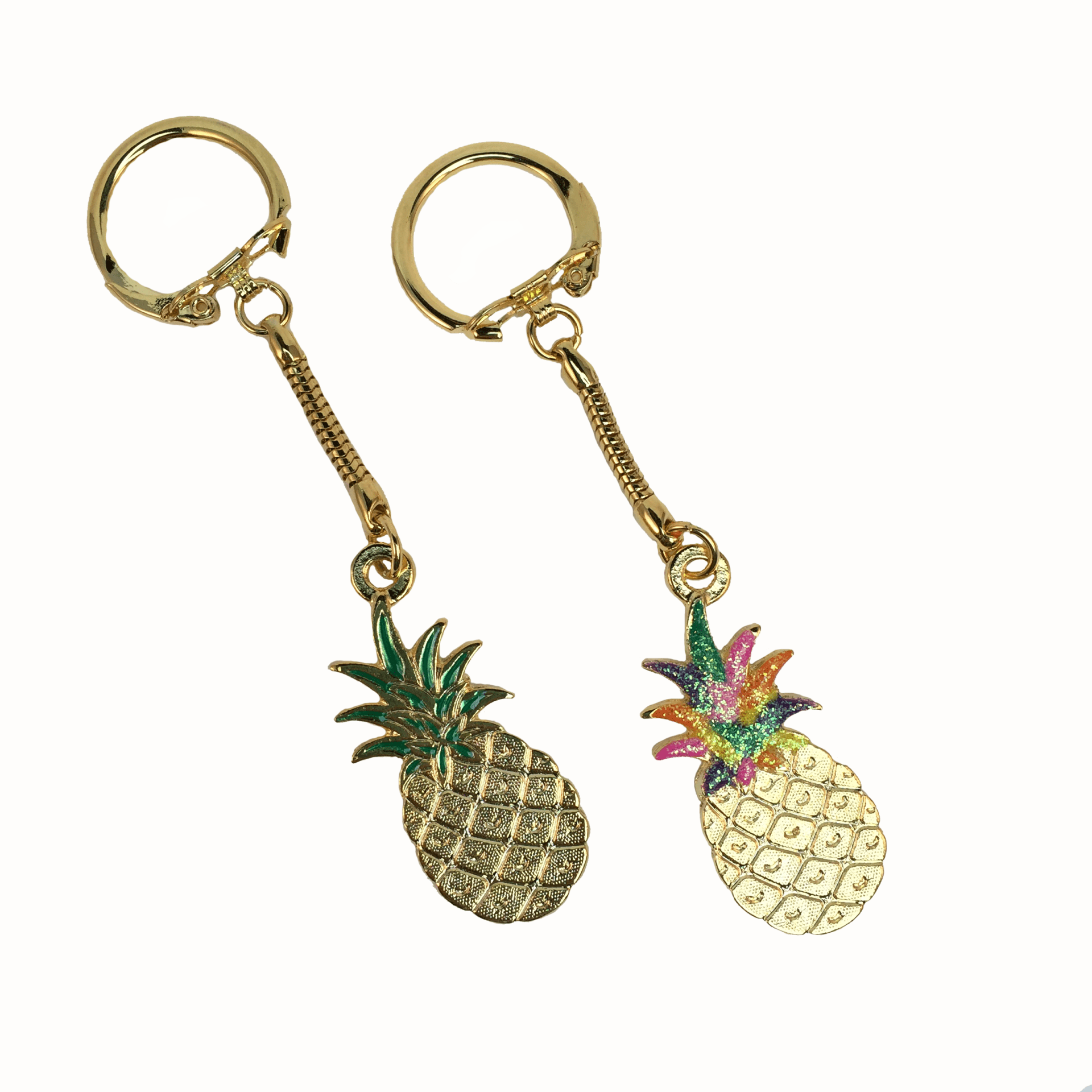 Keychains with Pineapple