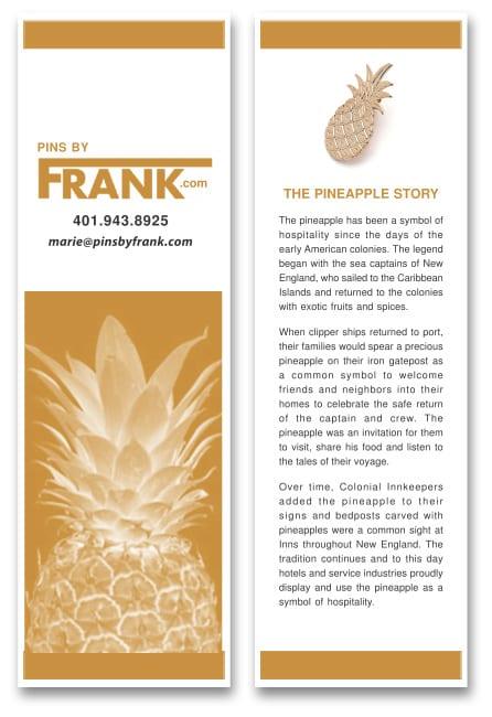 Pineapple Story Bookmark