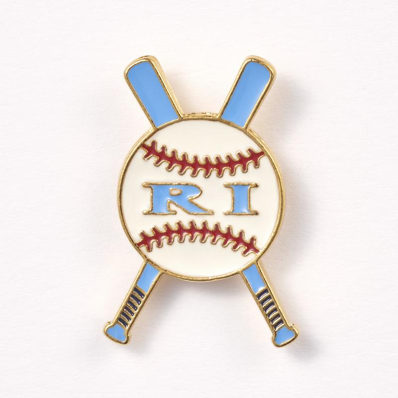 Rhode Island Baseball Pins -Trading Pin-Little League Pins (Copy)