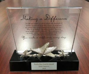 The Starfish Story – Making A difference – A New Award