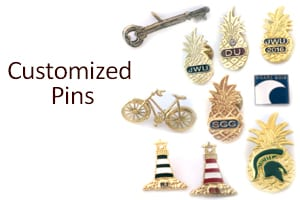 customized pins