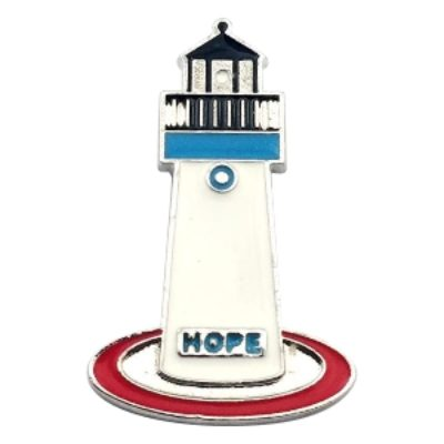 "Metropolis Lighthouse Pin – ""HopeLight"""