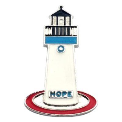 "Metropolis Lighthouse Pin – ""HopeLight"""