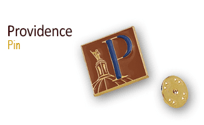 Providence Independant man pin