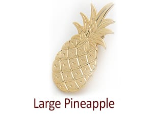 Pineapple Pins, Large Pineapple Pin Custom, Customizable